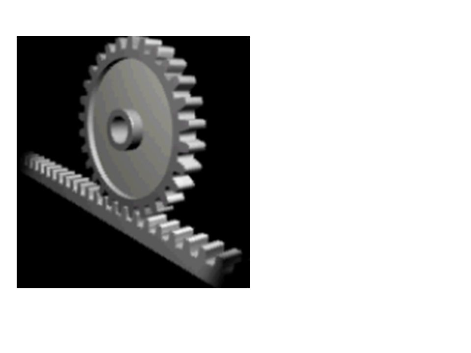 Transmissão de MCU Correm juntas Mesmo sentido de giro Mesma velocidade linear V A = V B Correm juntas Sentido oposto de giro Mesma velocidade linear
