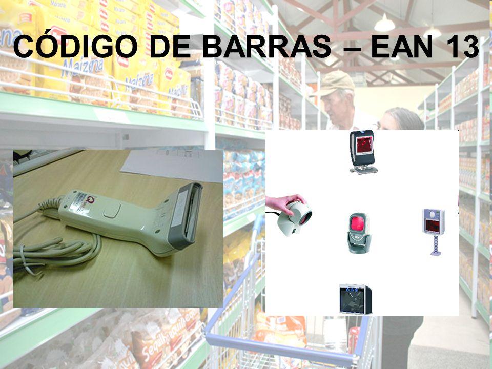CÓDIGO DE BARRAS – EAN 13