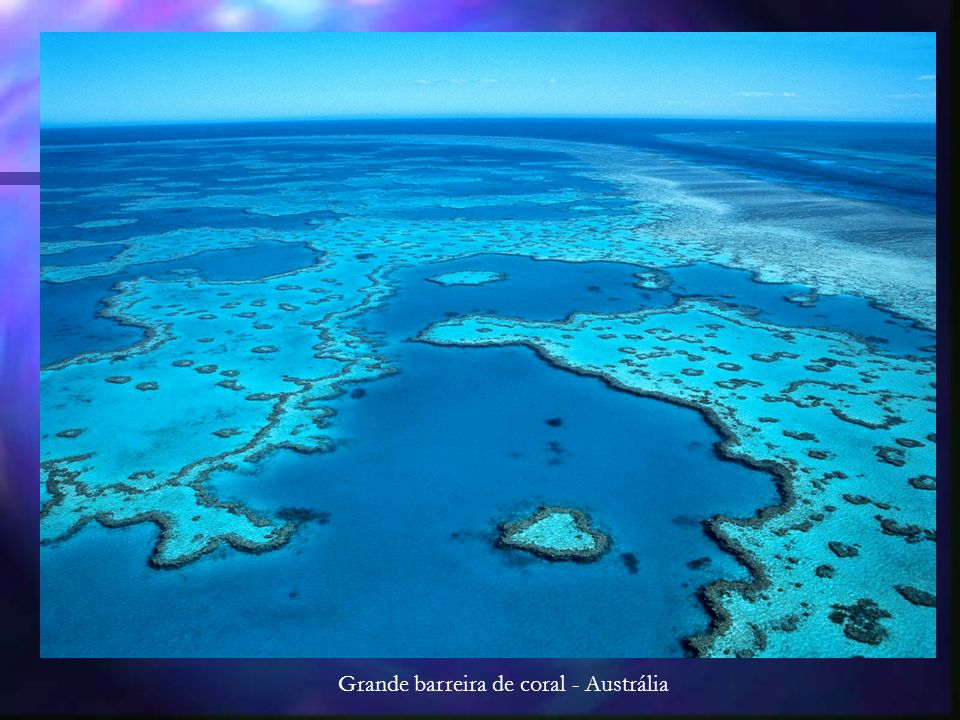 Grande barreira de coral - Austrália