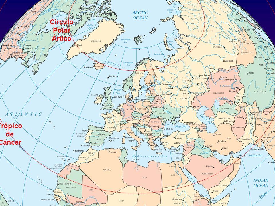 Círculo Polar Ártico Trópico de Câncer