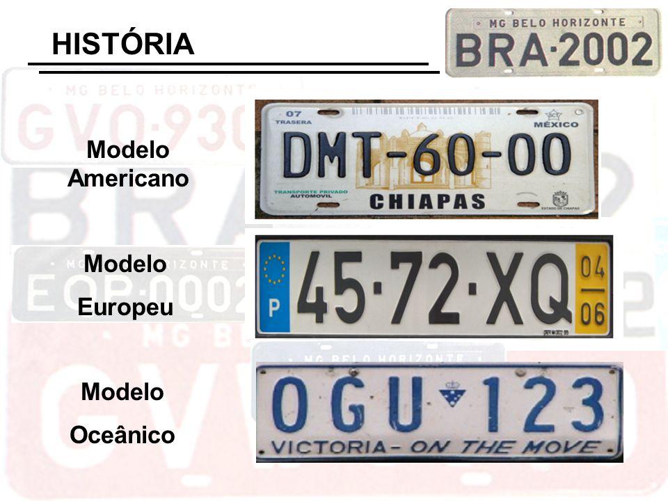 Modelo Americano Modelo Europeu Modelo Oceânico