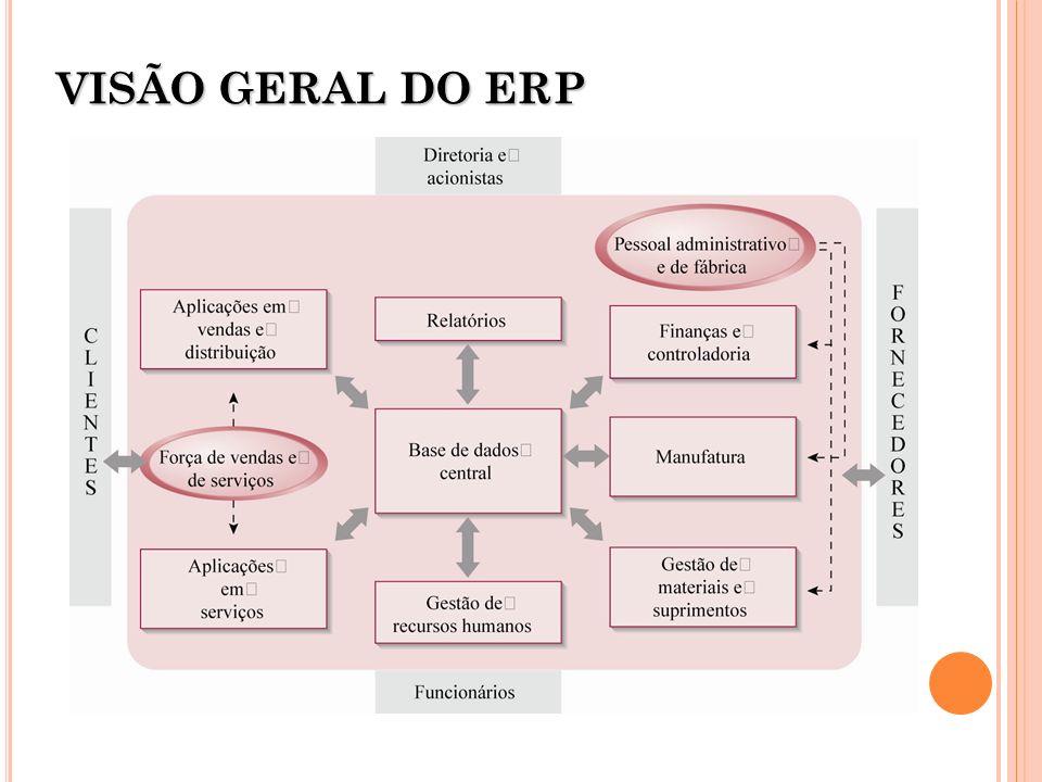 VISÃO GERAL DO ERP