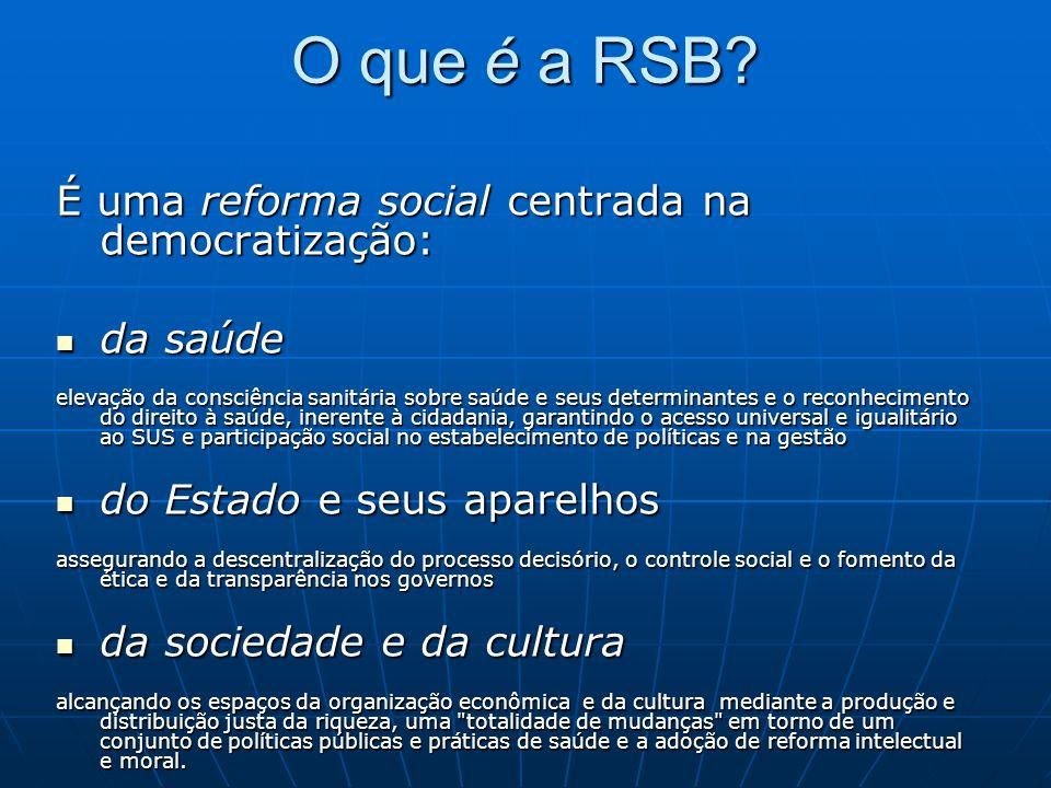 O que é a RSB.