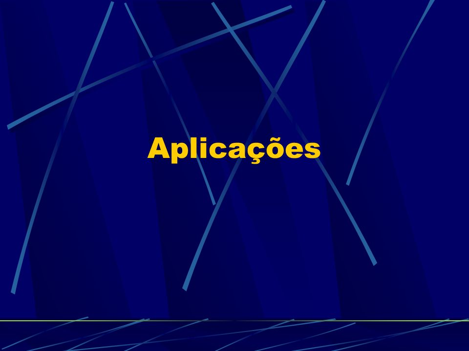Aplicações