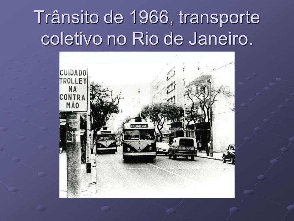 Trânsito de 2008, transporte coletivo no Rio de Janeiro.