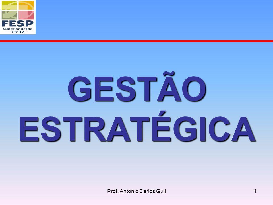 GESTÃO ESTRATÉGICA 1Prof. Antonio Carlos Guil