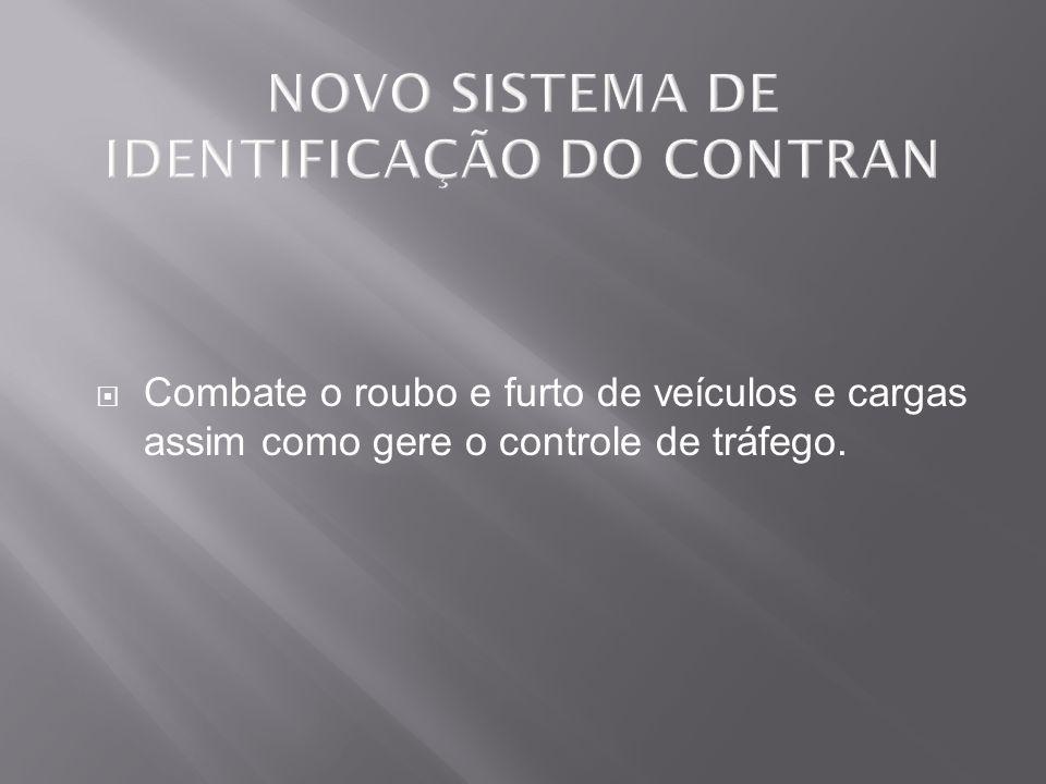 O chassi de todos os veículos automotores (automóveis) brasileiros possuem códigos gravados, os quais são regulados por portarias do DENATRAM (Departamento Nacional de Trânsito) e resoluções do CONTRAN ( Conselho Nacional de Trânsito )