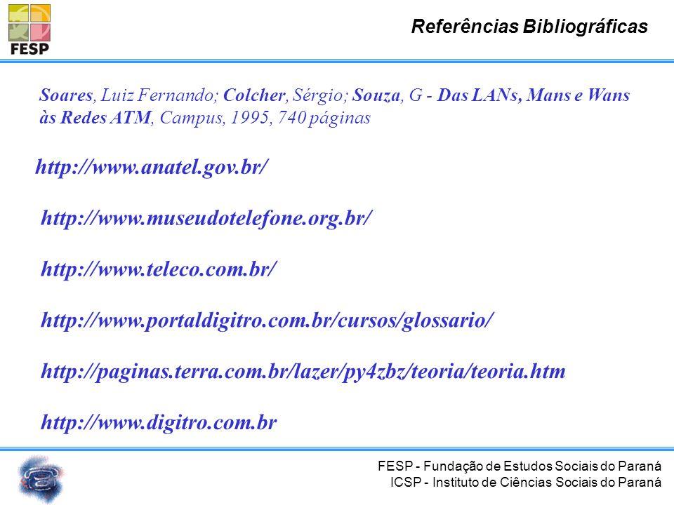 FESP - Fundação de Estudos Sociais do Paraná ICSP - Instituto de Ciências Sociais do Paraná Inventor é um homem que olha para o mundo em torno de si e