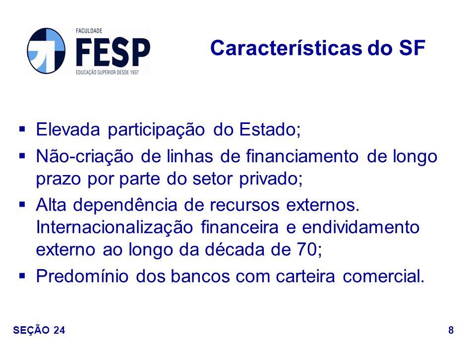 Resposta à perda da receita inflacionária: expansão das operações de crédito e a elevação nas tarifas dos serviços bancários.