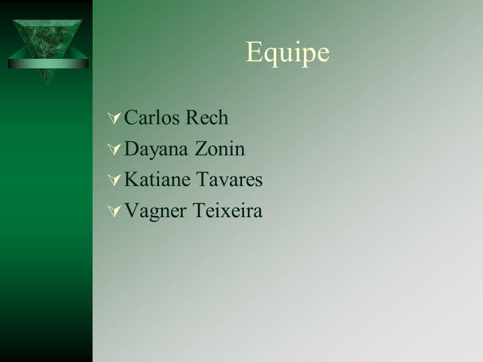 Equipe Carlos Rech Dayana Zonin Katiane Tavares Vagner Teixeira