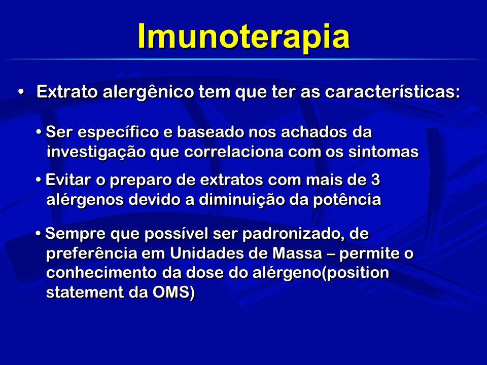 Imunoterapia sublingual é efetiva para adultos e provavelmente para crianças, porém em altas doses.