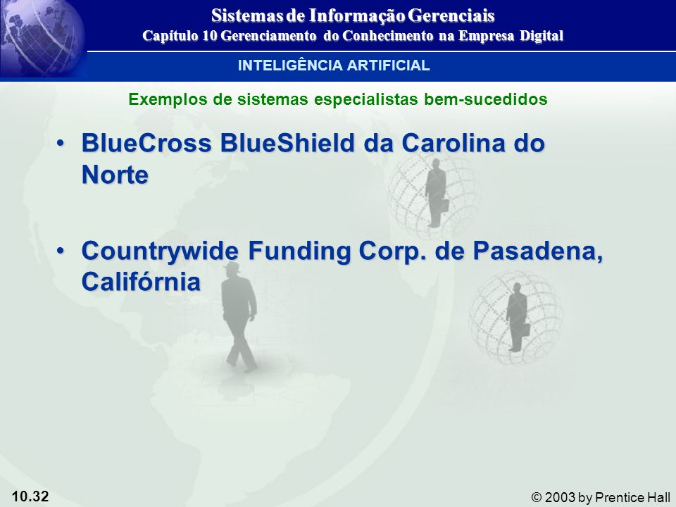 10.32 © 2003 by Prentice Hall BlueCross BlueShield da Carolina do NorteBlueCross BlueShield da Carolina do Norte Countrywide Funding Corp. de Pasadena