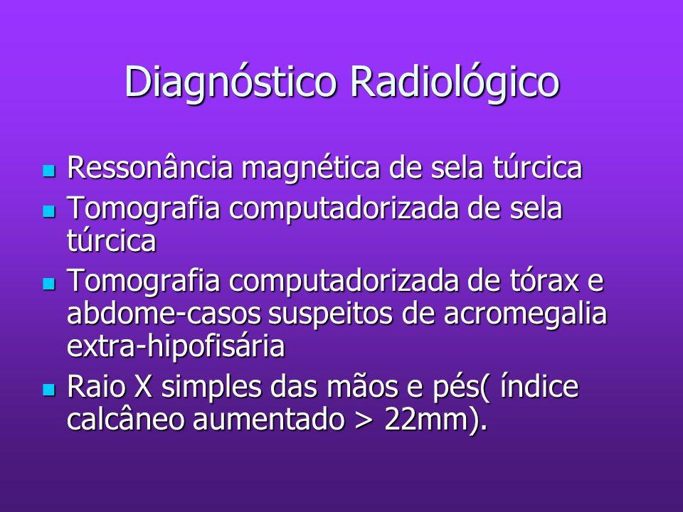 Diagnóstico Radiológico Ressonância magnética de sela túrcica Ressonância magnética de sela túrcica Tomografia computadorizada de sela túrcica Tomogra