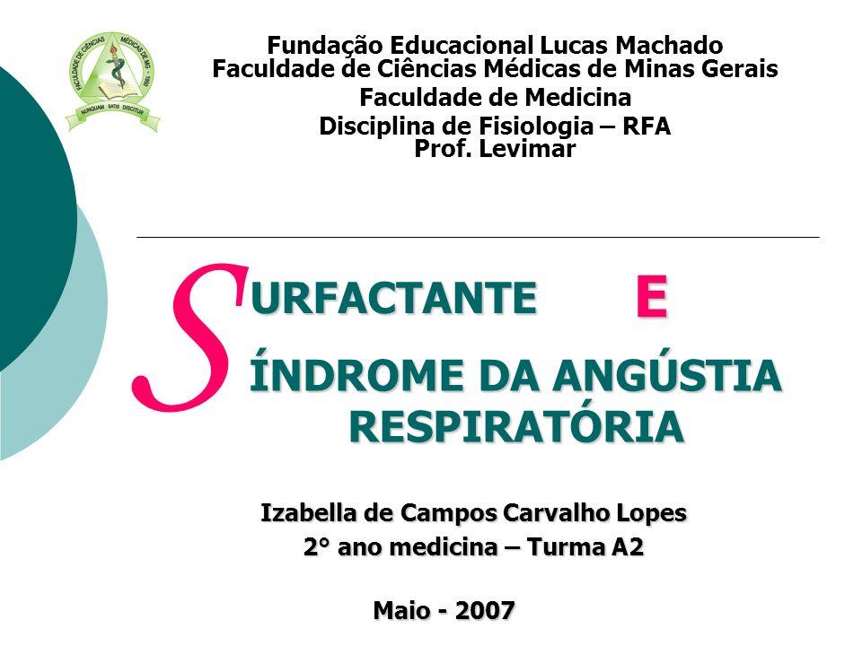 Izabella de Campos Carvalho Lopes 2° ano medicina – Turma A2 Fundação Educacional Lucas Machado Faculdade de Ciências Médicas de Minas Gerais Faculdad