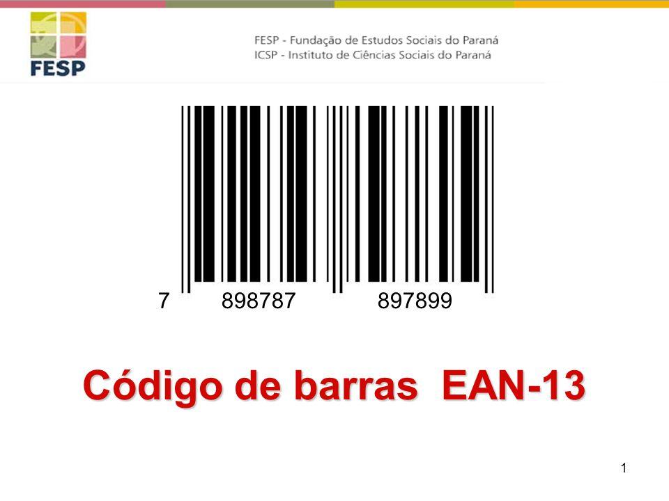 1 Código de barras EAN-13 8987878978997