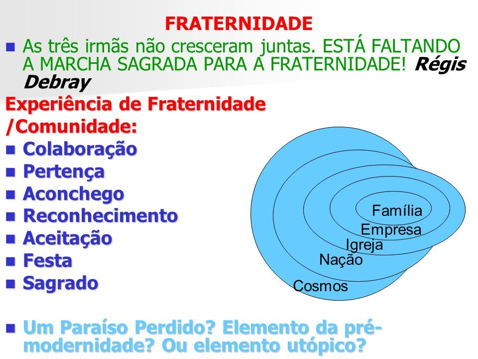 1- FRATERNIDADE CÓSMICA – O OUTRO - QUEM É O OUTRO.