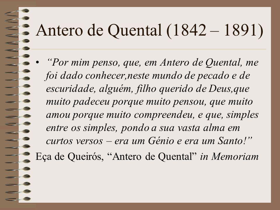 ANTERO DE QUENTAL