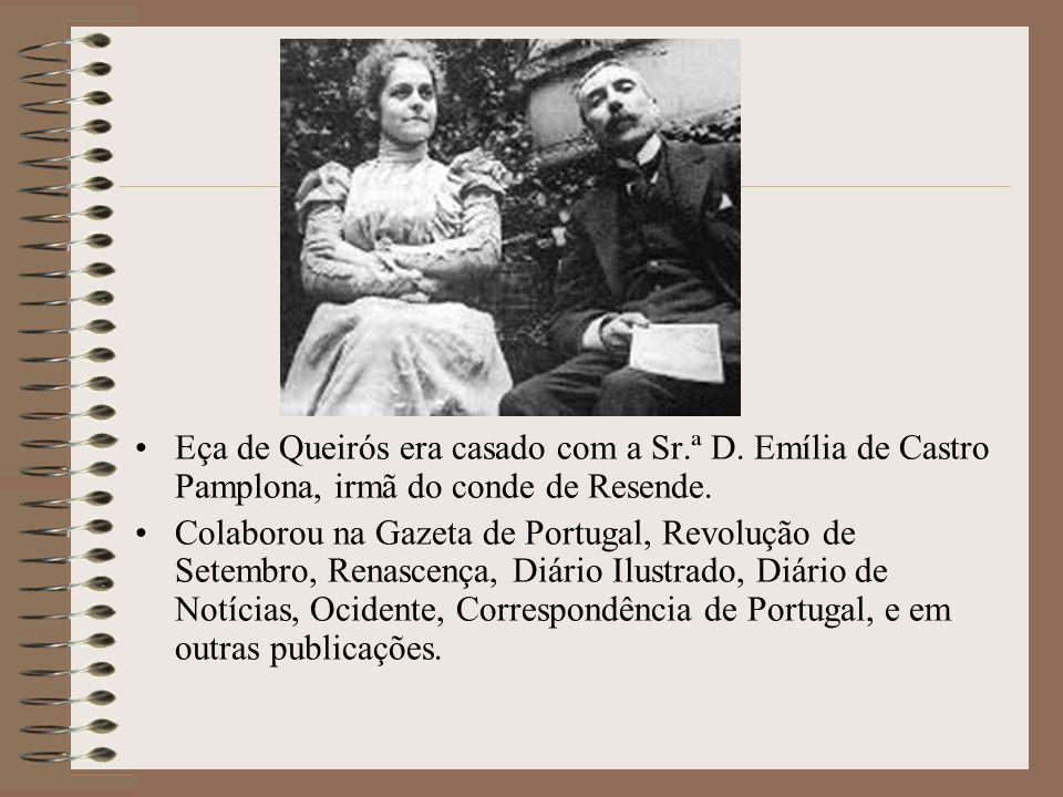 Estabeleceram-se então, em 1871, as notáveis Conferências Democráticas no Casino Lisbonense (V. Conferência), e Eça de Queirós, na que lhe competiu, d