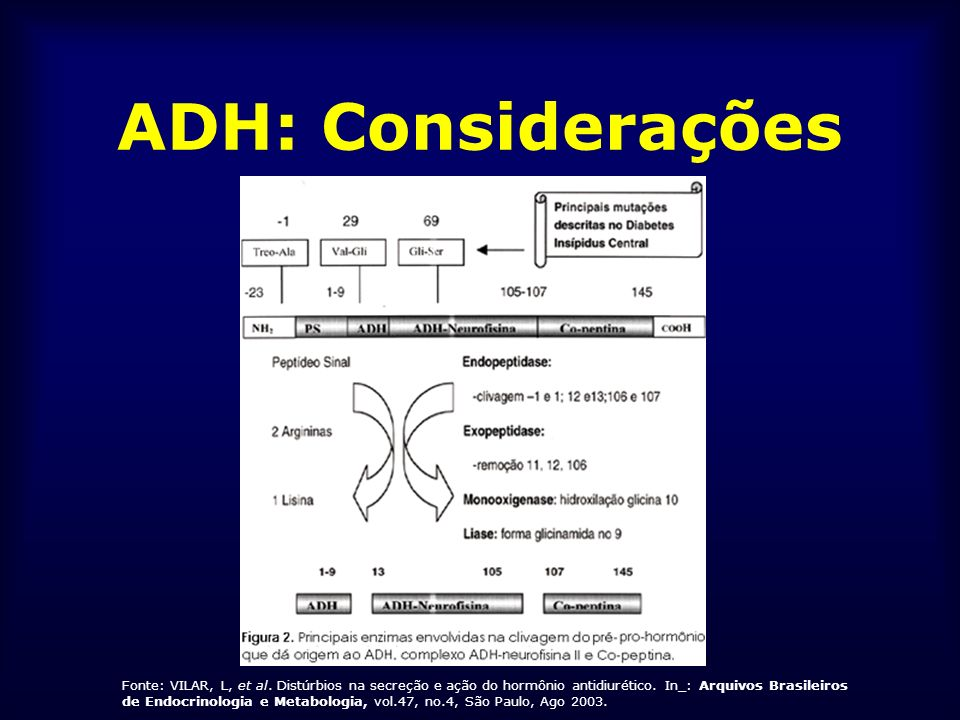 Diabetes Insípido Central DI IDIOPÁTICO - Auto-imune.