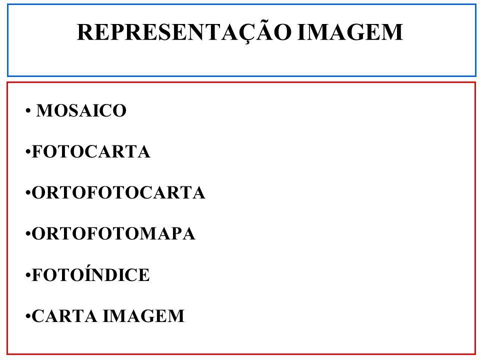MOSAICO FOTOCARTA ORTOFOTOCARTA ORTOFOTOMAPA FOTOÍNDICE CARTA IMAGEM REPRESENTAÇÃO IMAGEM