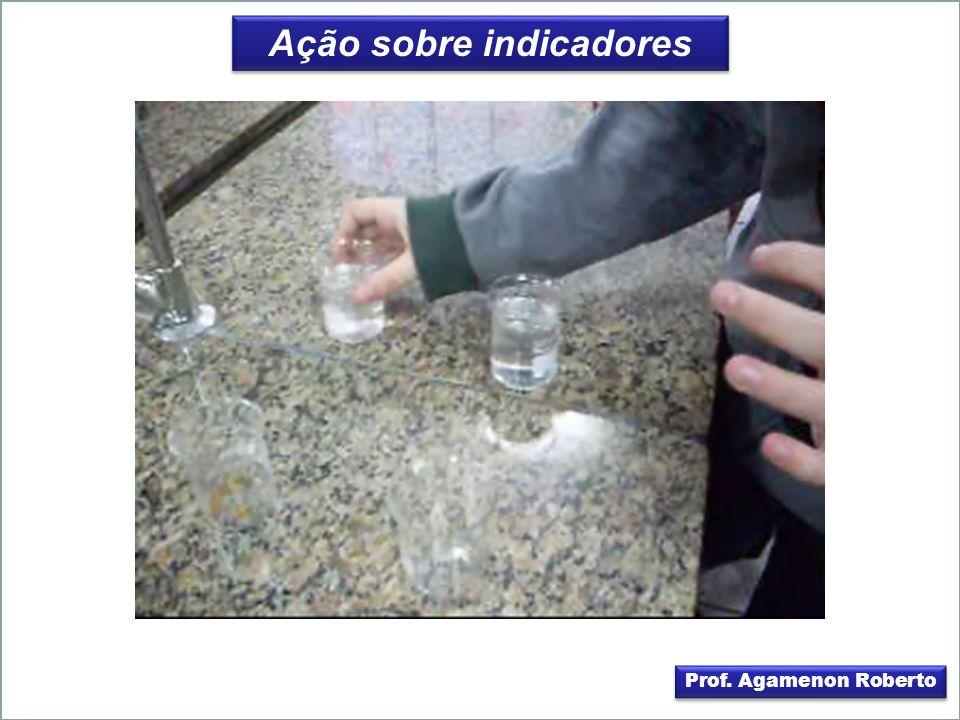 Ação sobre indicadores Prof. Agamenon Roberto