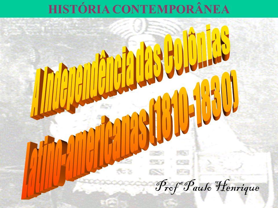 HISTÓRIA CONTEMPORÂNEA Profº Paulo Henrique