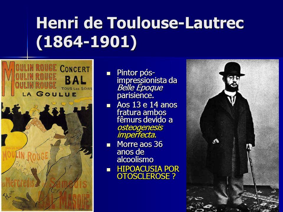 Henri de Toulouse-Lautrec (1864-1901) Pintor pós- impressionista da Belle Époque parisience. Pintor pós- impressionista da Belle Époque parisience. Ao