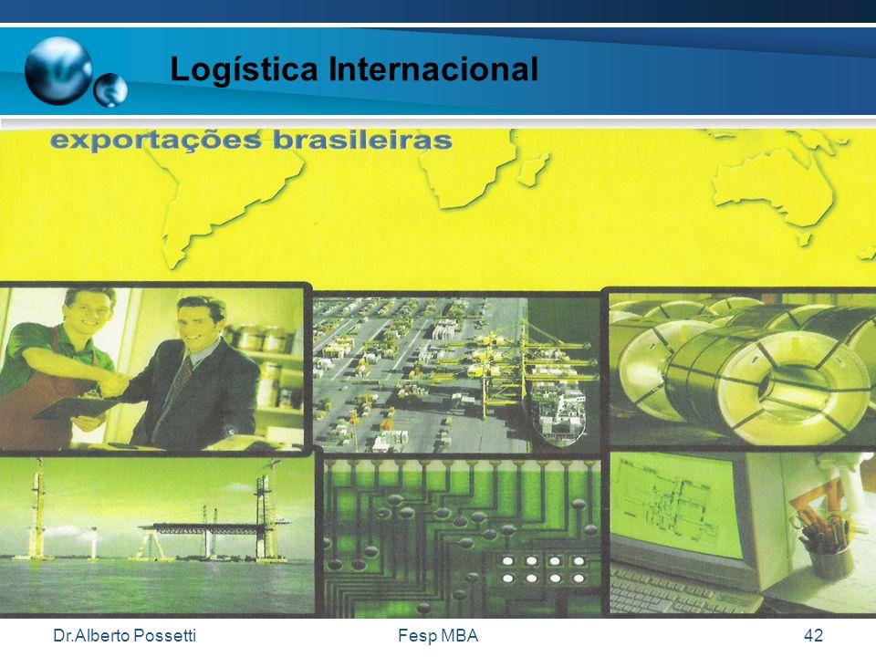 Dr.Alberto PossettiFesp MBA42 Logística Internacional