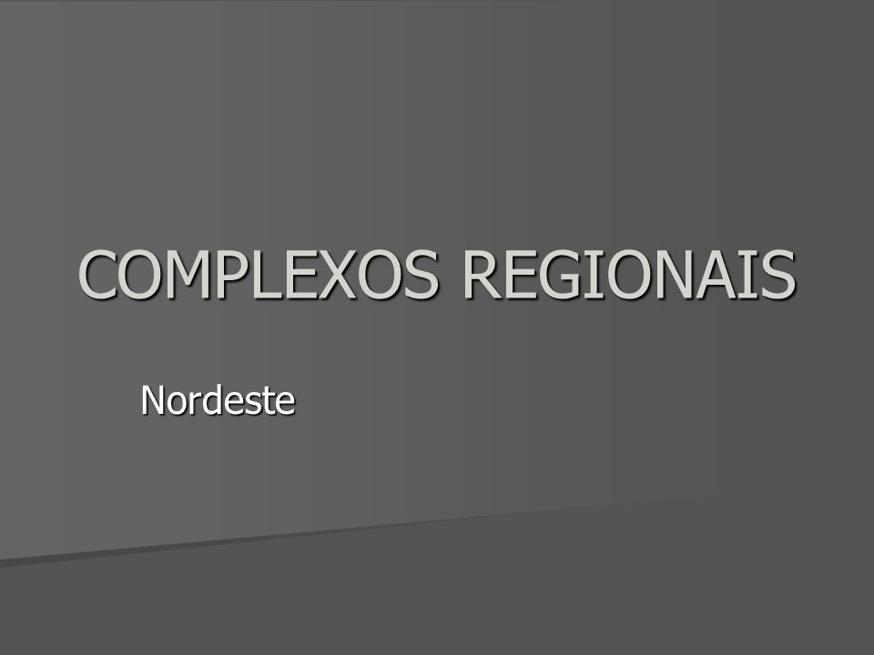 Características Gerais Região Problema do Brasil Região Problema do Brasil Colonização mais antiga Colonização mais antiga Sub - regiões: Sub - regiões: Meio Norte Sertão Zona da Mata Agreste Critério: Distribuição da umidade Critério: Distribuição da umidade
