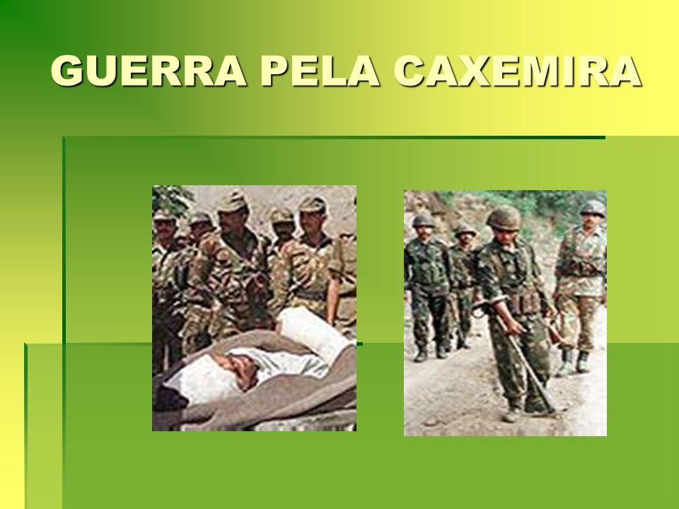 GUERRA PELA CAXEMIRA