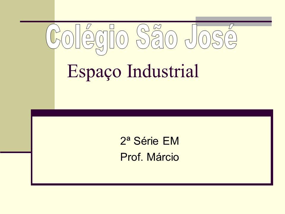 Espaço Industrial 2ª Série EM Prof. Márcio