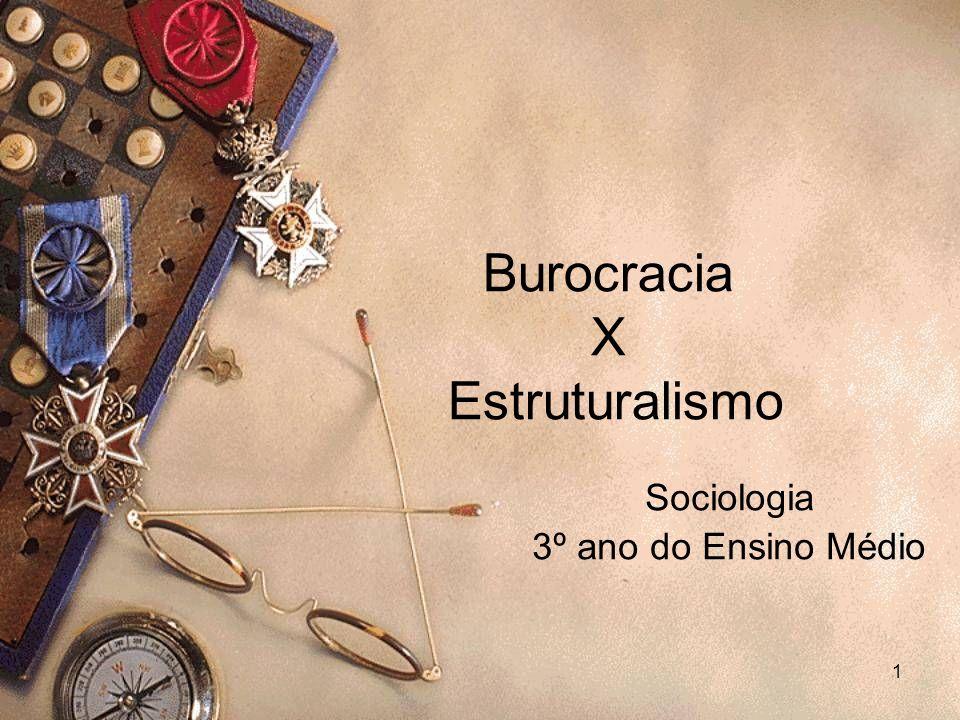 12 Caráter da administração Sociologia da burocracia.