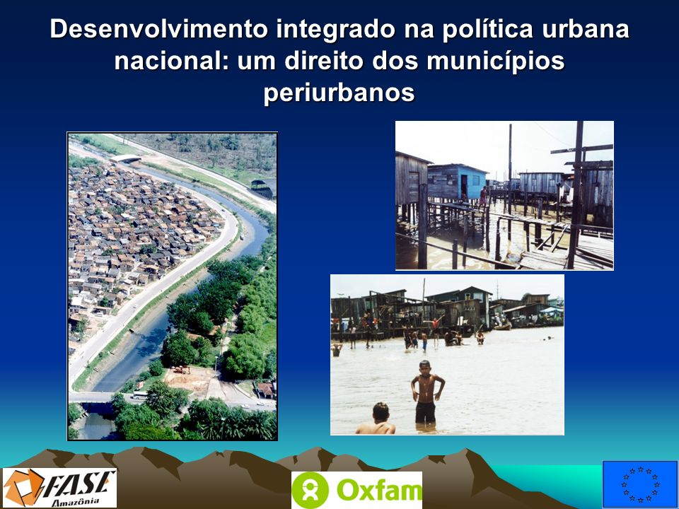 Desenvolvimento integrado na política urbana nacional: um direito dos municípios periurbanos