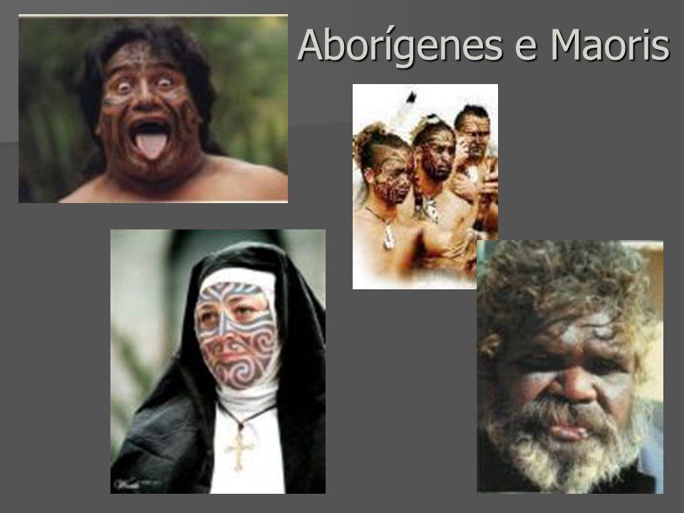Aborígenes e Maoris