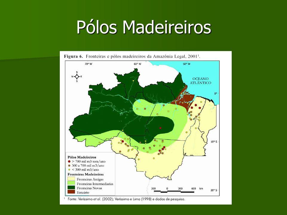 Pólos Madeireiros