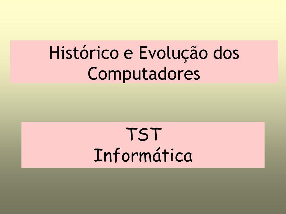 Histórico e Evolução dos Computadores TST Informática
