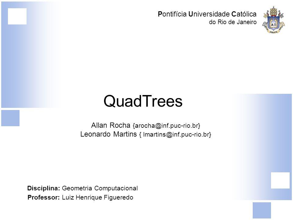 Pontifícia Universidade Católica do Rio de Janeiro QuadTree