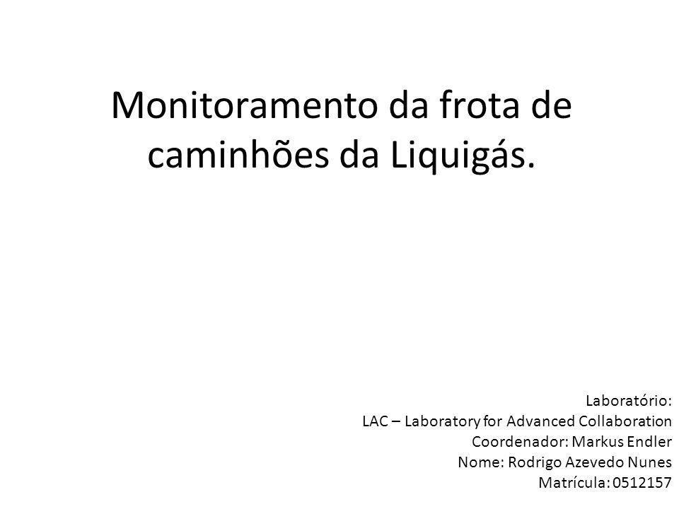 O projeto.Projeto envolvendo TecGraf e Liquigás. Atualmente a Petrobrás também está envolvida.