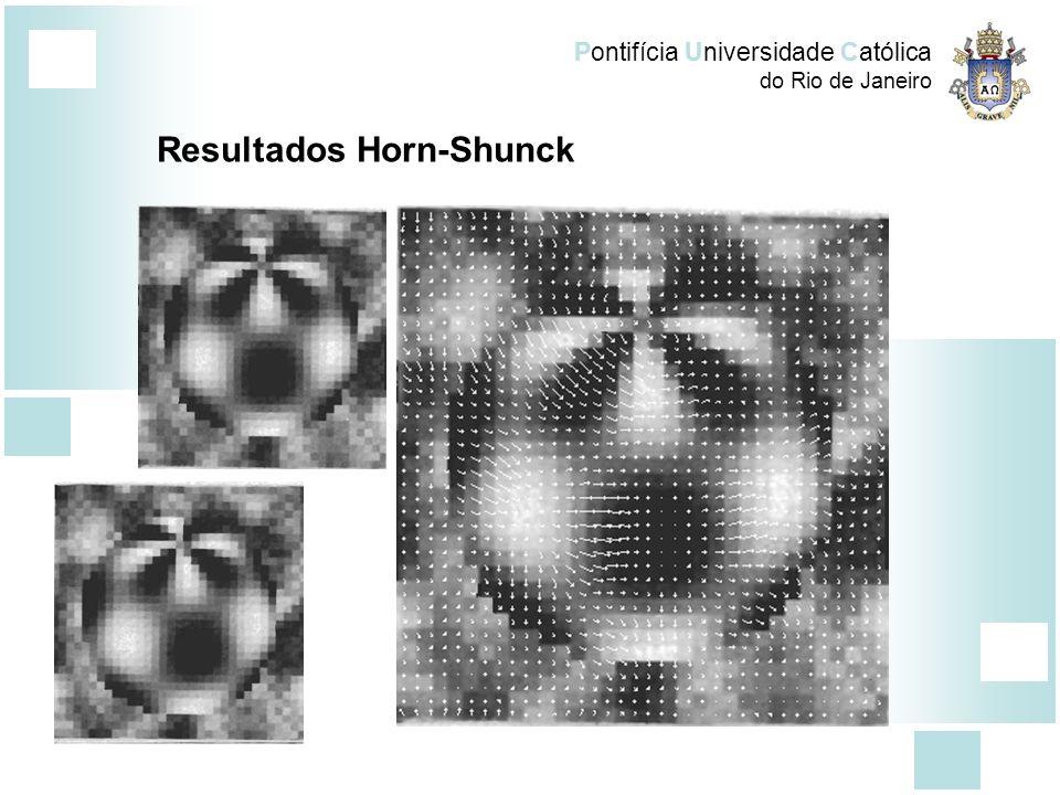 Pontifícia Universidade Católica do Rio de Janeiro Resultados Horn-Shunck