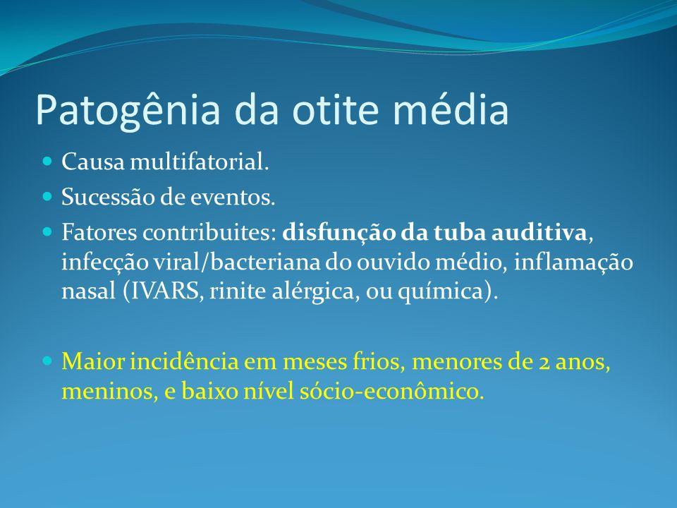 OMC colesteatomatosa COLESTEATOMA COLESTEATOMA resulta da invasão do epitélio do conduto auditivo para dentro do ouvido médio, através de uma perfuração marginal.