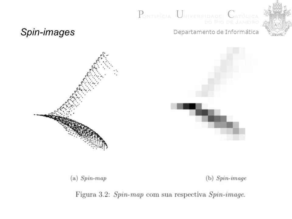 Spin-images Departamento de Informática