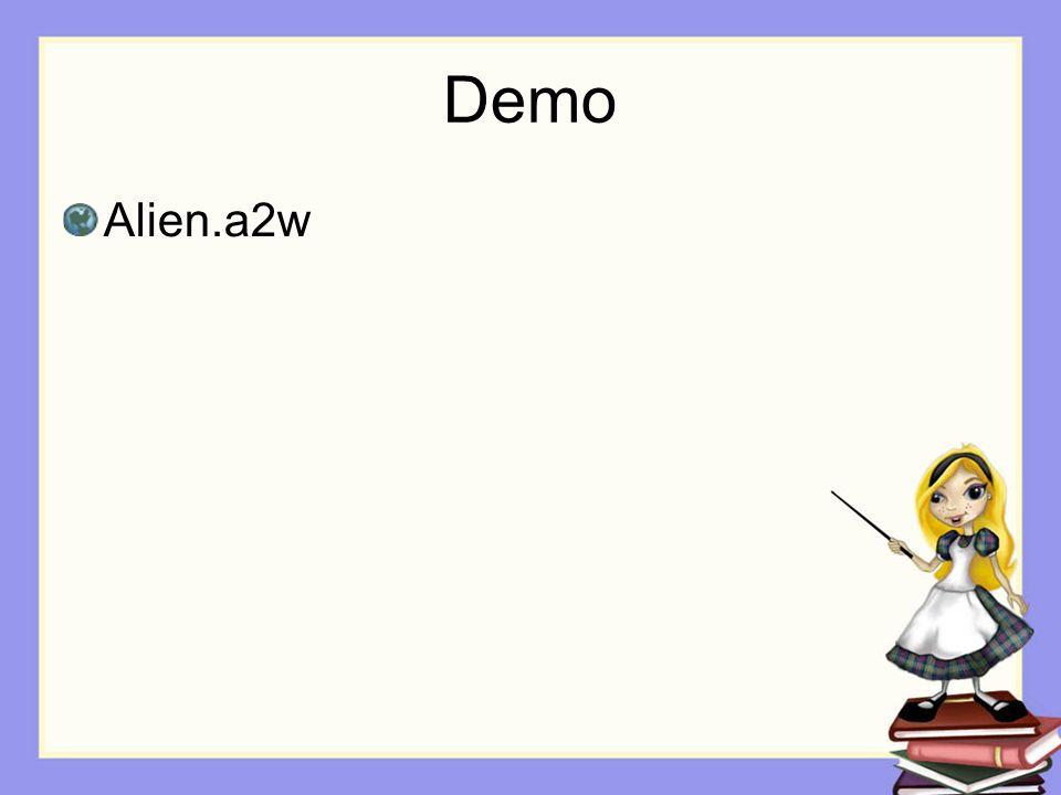 Demo Alien.a2w