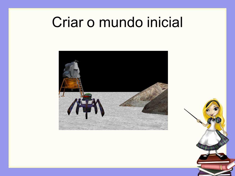 Storyboard Opção 1: Sketches Descrição: O Alienigena chama o robô por detrás da rocha.