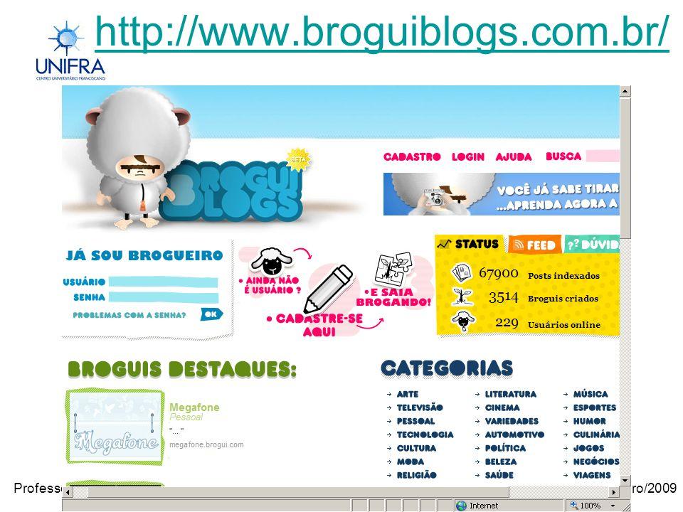 Janeiro/2009Professora Janilse Vasconcelos Em que devo pensar antes de publicar um vídeo.