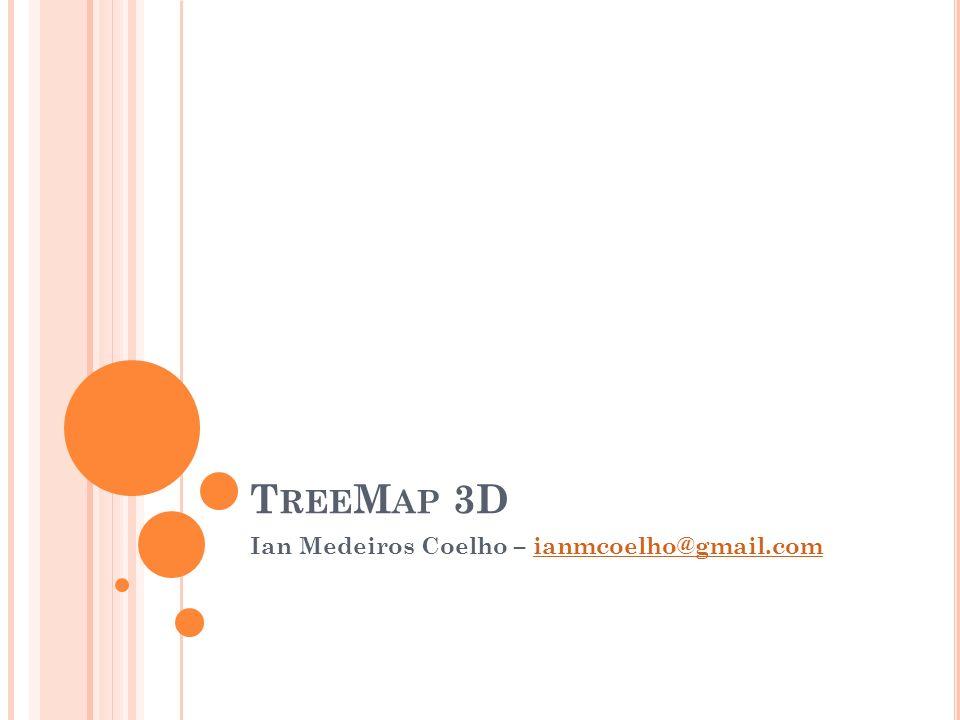 T REE M AP 3D Ian Medeiros Coelho – ianmcoelho@gmail.comianmcoelho@gmail.com