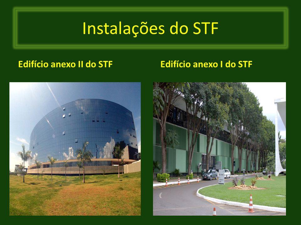 Instalações do STF Edifício anexo II do STF Edifício anexo I do STF