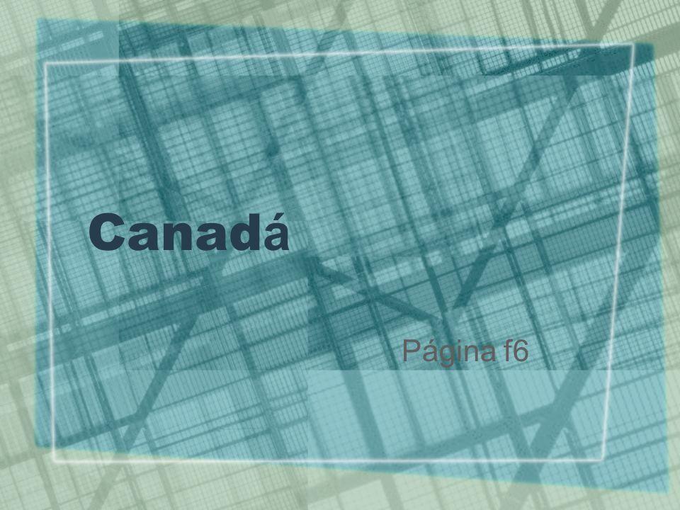 Caracter í sticas gerais Extenso território Pouco populoso Despovoado Elevado IDH Povoamento FRANÇA CANADÁ ECONOMIA Riqueza mineral Agricultura: PRAIRIE Pesca Exportação de papel Indústria na fronteira SUL