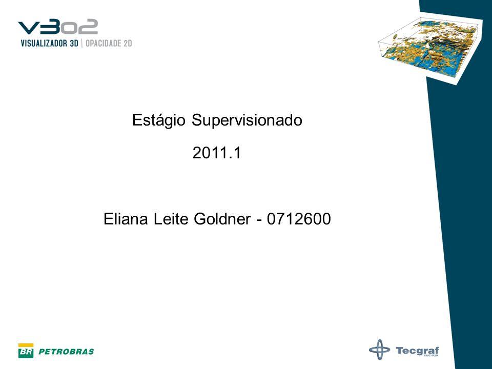 Estágio Supervisionado 2011.1 Eliana Leite Goldner - 0712600