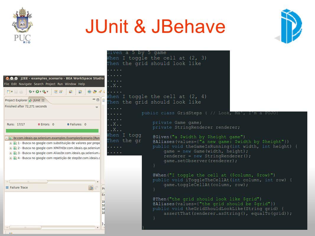 JUnit & JBehave