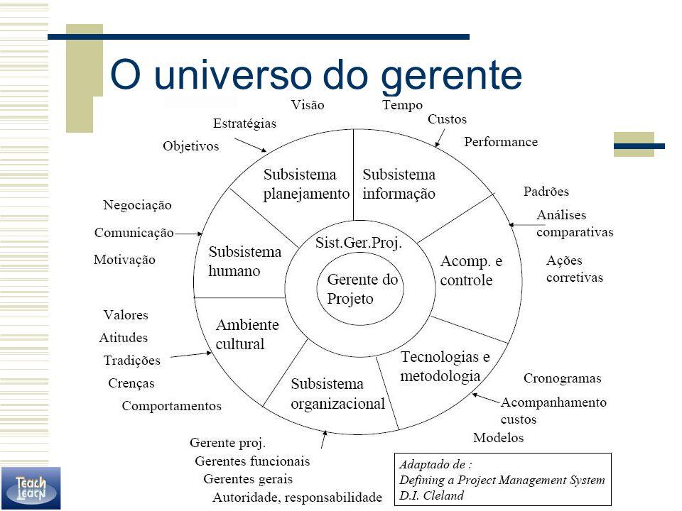 O universo do gerente